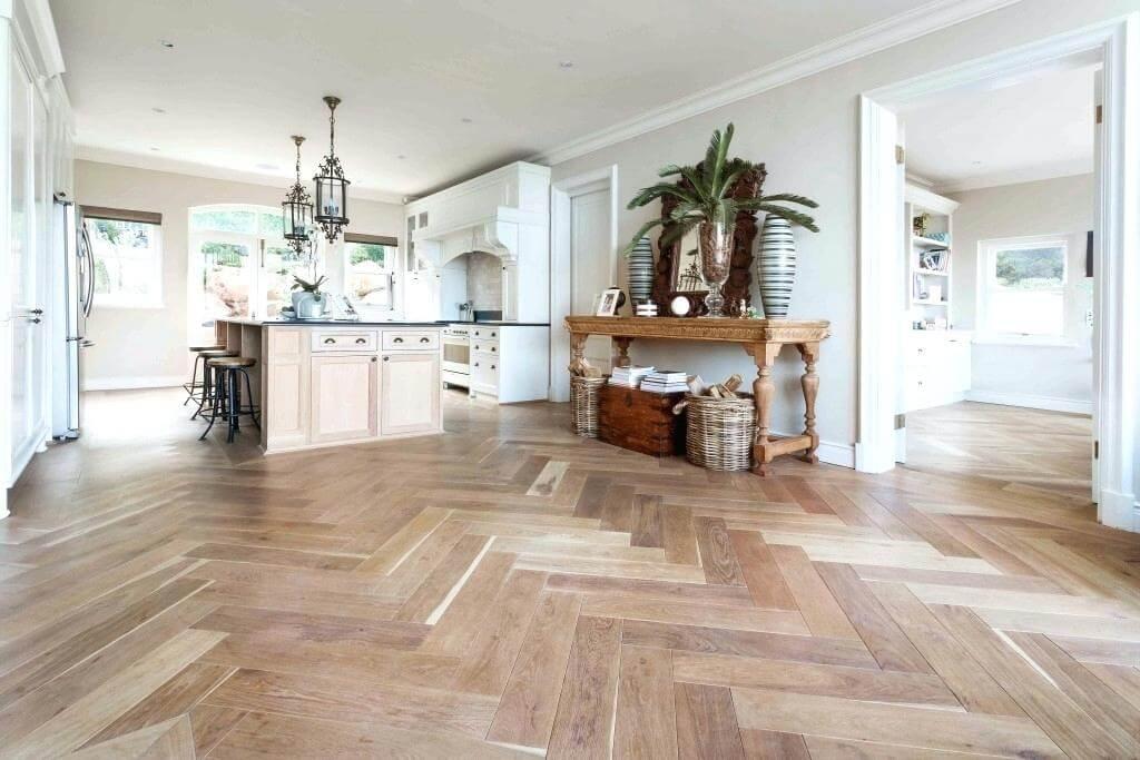 The Resurge of Herringbone Flooring